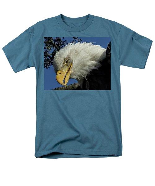 Eagle Head Men's T-Shirt  (Regular Fit) by Sheldon Bilsker