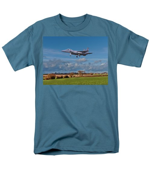 Eagle On Finals Men's T-Shirt  (Regular Fit) by Paul Gulliver