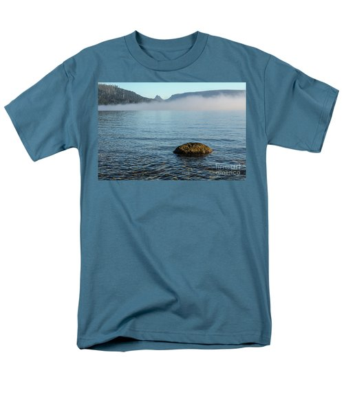 Men's T-Shirt  (Regular Fit) featuring the photograph Early Morning At Lake St Clair by Werner Padarin