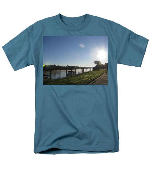 Early Morning On The Savannah River Men's T-Shirt  (Regular Fit) by Donna Brown