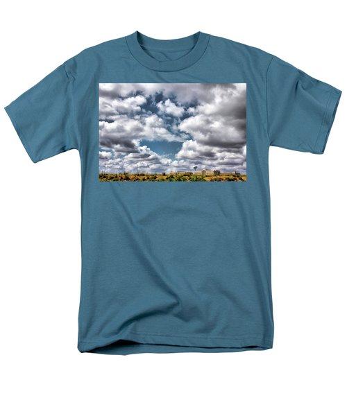 Earthbound - Live Oak Texas Men's T-Shirt  (Regular Fit) by Wendy J St Christopher