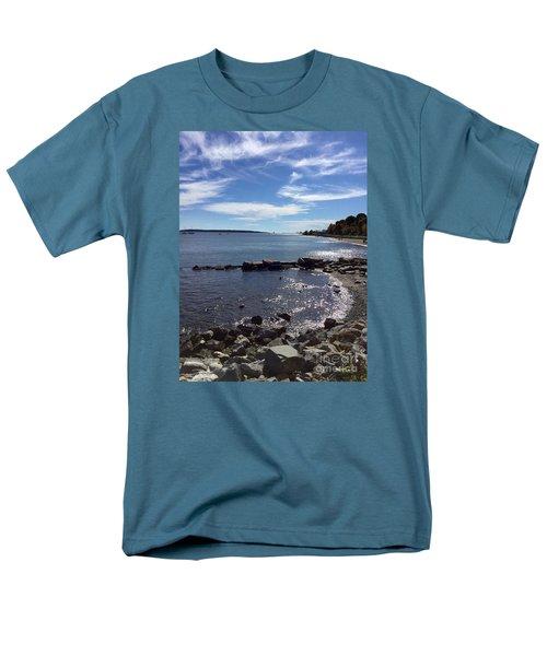 East End Beach Portland, Maine, October 2015 Men's T-Shirt  (Regular Fit)