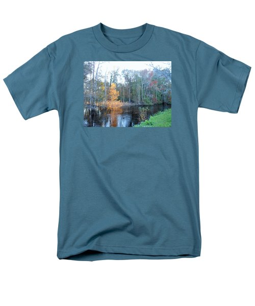 Men's T-Shirt  (Regular Fit) featuring the photograph Edisto River by Kay Gilley