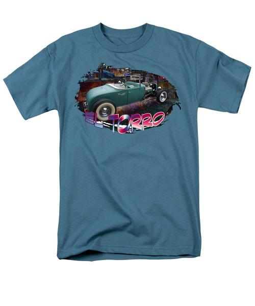 Men's T-Shirt  (Regular Fit) featuring the digital art El Torro by Richard Farrington
