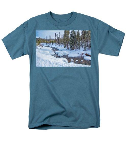Elk River Men's T-Shirt  (Regular Fit) by Sean Allen