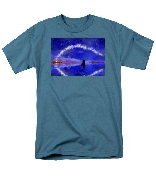 Men's T-Shirt  (Regular Fit) featuring the digital art Emily's Journey Part 1 by Bernd Hau