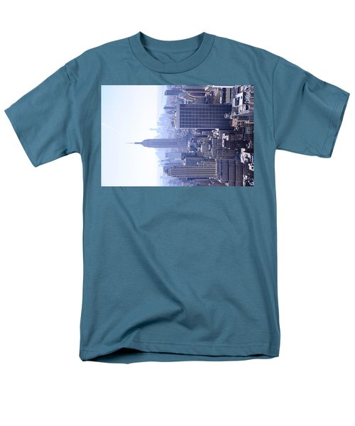 Empire State Building Men's T-Shirt  (Regular Fit) by Jeffson Chan