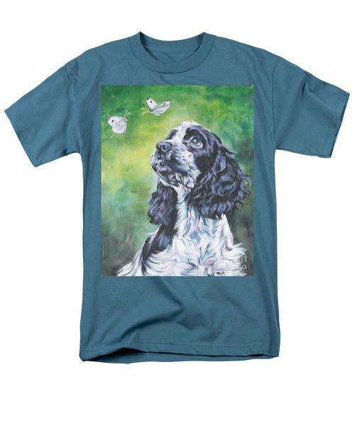 English Cocker Spaniel  Men's T-Shirt  (Regular Fit) by Lee Ann Shepard