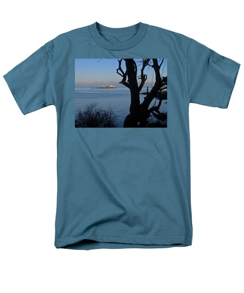 Entrance Island, Bc Men's T-Shirt  (Regular Fit) by Anne Havard
