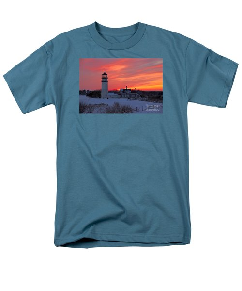 Epic Sunset At Highland Light Men's T-Shirt  (Regular Fit) by Amazing Jules
