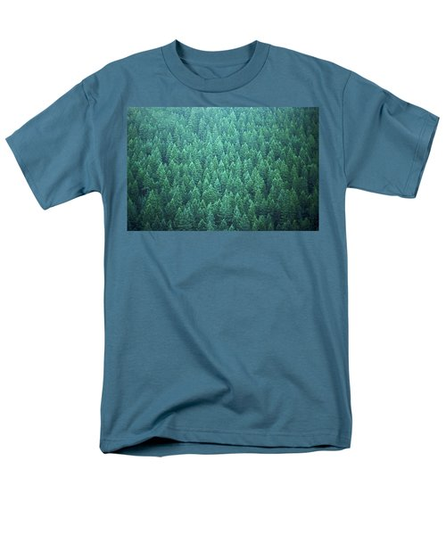 Evergreen Men's T-Shirt  (Regular Fit) by Laurie Stewart