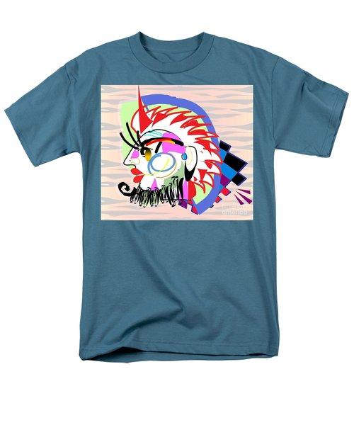 Exotic Mask Men's T-Shirt  (Regular Fit) by Belinda Threeths