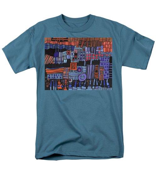 Exterior Facade Men's T-Shirt  (Regular Fit) by Sandra Church