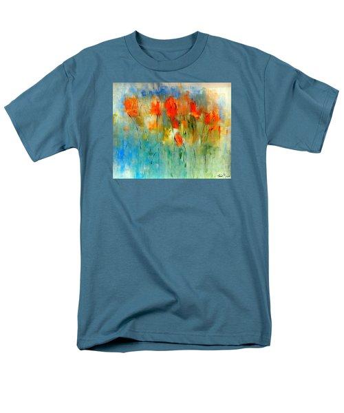Faded Warm Autumn Wind Men's T-Shirt  (Regular Fit) by Lisa Kaiser
