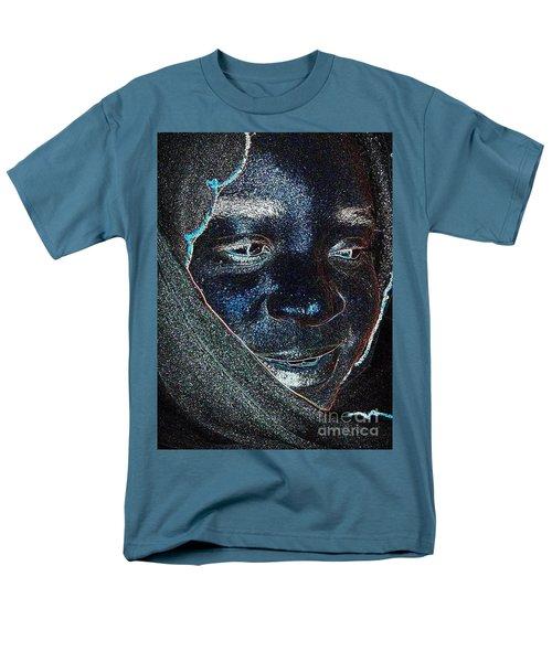 Fania Black Men's T-Shirt  (Regular Fit) by Fania Simon