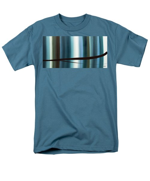 Men's T-Shirt  (Regular Fit) featuring the painting Feeling Engaged by Carmen Guedez