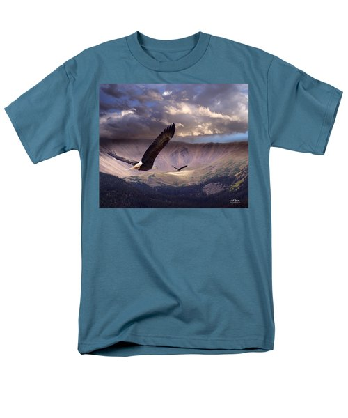 Finding Tranquility Men's T-Shirt  (Regular Fit) by Bill Stephens