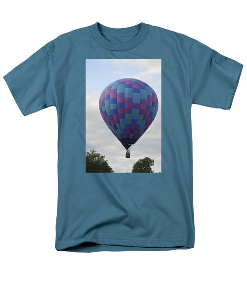 First To Take Off For The Atlantic Men's T-Shirt  (Regular Fit) by Linda Geiger