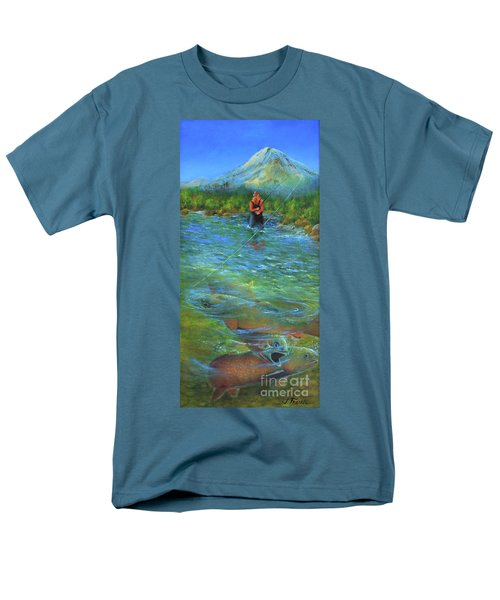 Fish Story Men's T-Shirt  (Regular Fit) by Jeanette French