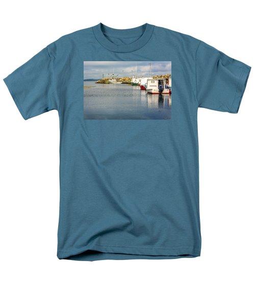 Fishing Boats At Feltzen South Men's T-Shirt  (Regular Fit) by Ken Morris