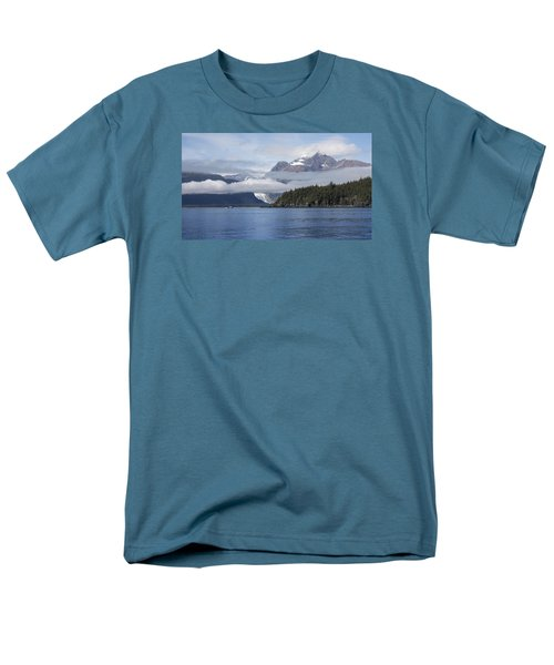 Fishing In Southeast Alaska Men's T-Shirt  (Regular Fit) by Michele Cornelius