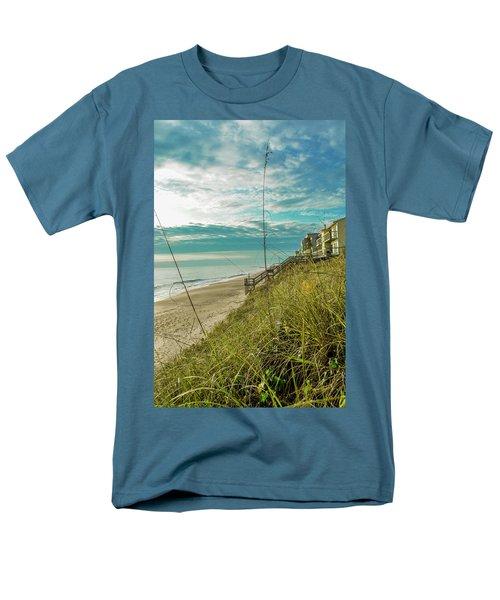 St Aug Beach Men's T-Shirt  (Regular Fit) by Josy Cue