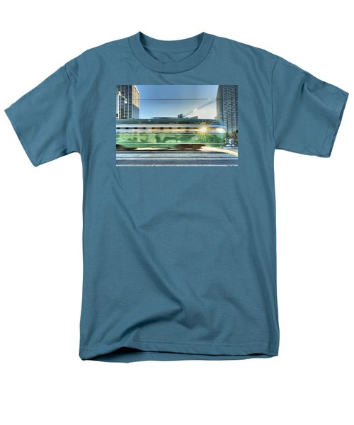 Men's T-Shirt  (Regular Fit) featuring the photograph Flash Muni by Steve Siri