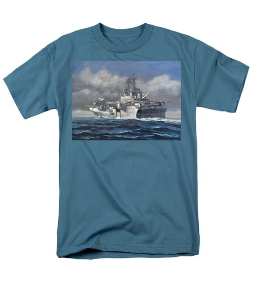 Men's T-Shirt  (Regular Fit) featuring the painting Flight Ops by Stephen Roberson