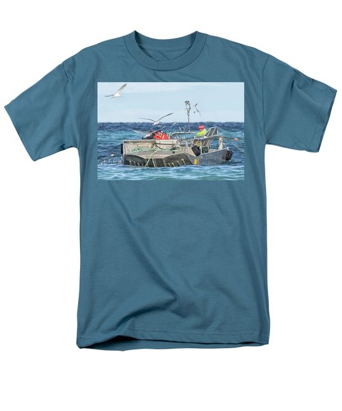 Men's T-Shirt  (Regular Fit) featuring the photograph Flying Fish by Randy Hall