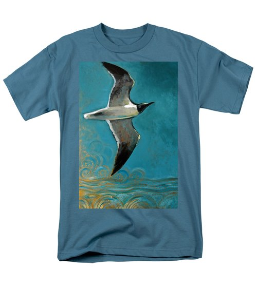 Men's T-Shirt  (Regular Fit) featuring the painting Flying Free by Suzanne McKee