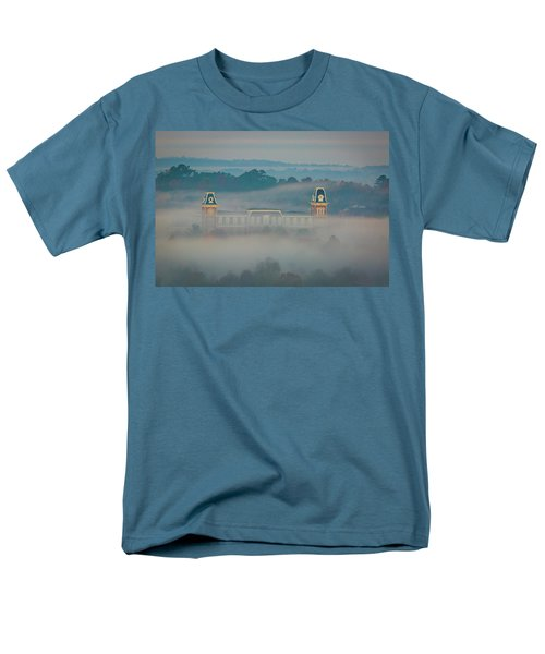 Fog At Old Main Men's T-Shirt  (Regular Fit) by Damon Shaw