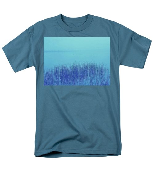 Fog Reeds Men's T-Shirt  (Regular Fit) by Laurie Stewart