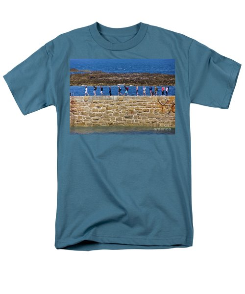 Men's T-Shirt  (Regular Fit) featuring the photograph Follow The Yellow Brick Road by Terri Waters