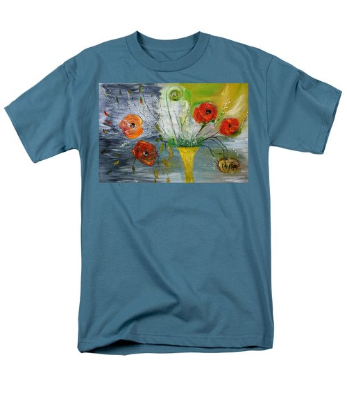 Men's T-Shirt  (Regular Fit) featuring the photograph For Mom by Evelina Popilian