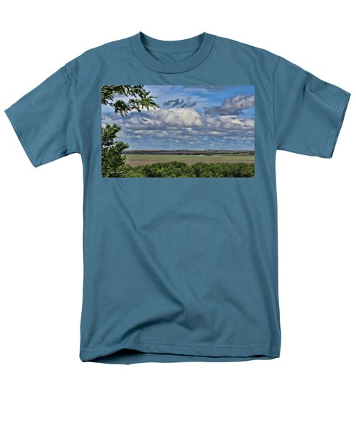 For Spacious Skies Men's T-Shirt  (Regular Fit) by Sylvia Thornton
