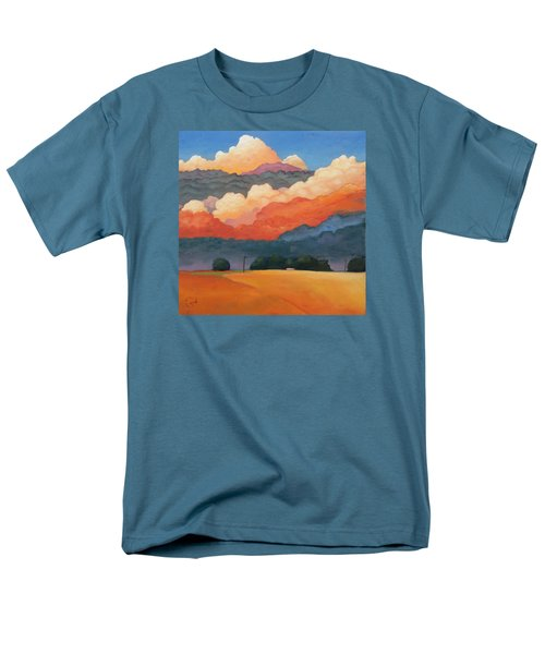 For The Love Of Clouds Men's T-Shirt  (Regular Fit) by Gary Coleman