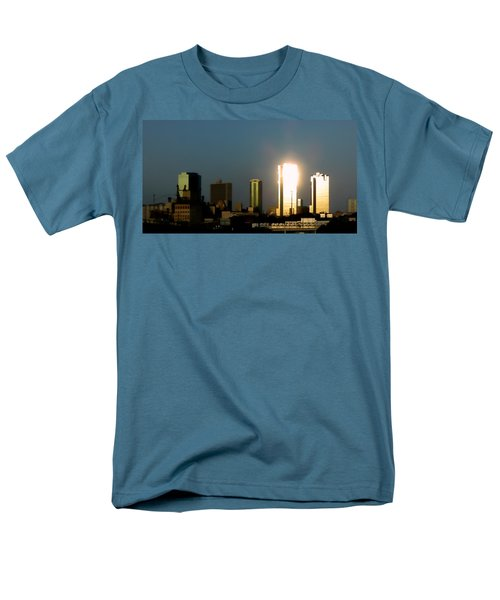 Fort Worth Gold Men's T-Shirt  (Regular Fit) by Douglas Barnard