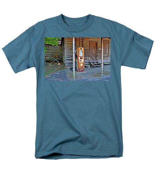 Forty Nine Cents Per Gallon Men's T-Shirt  (Regular Fit) by Linda Brown
