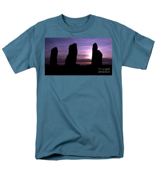 Four Stones Folly Clent Hills Men's T-Shirt  (Regular Fit) by Baggieoldboy