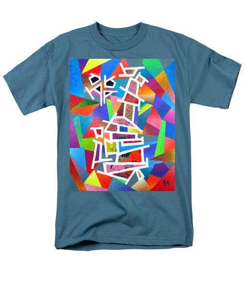 Fractured Instrument Of Love Men's T-Shirt  (Regular Fit) by Jeremy Aiyadurai