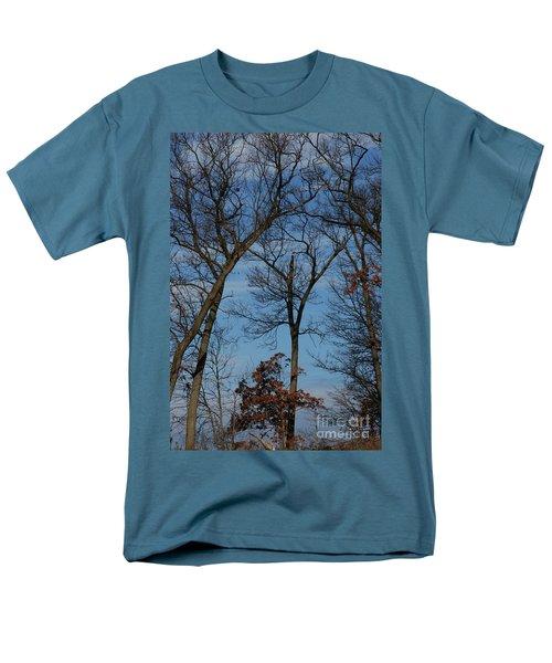 Framed In Oak - 1 Men's T-Shirt  (Regular Fit) by Linda Shafer