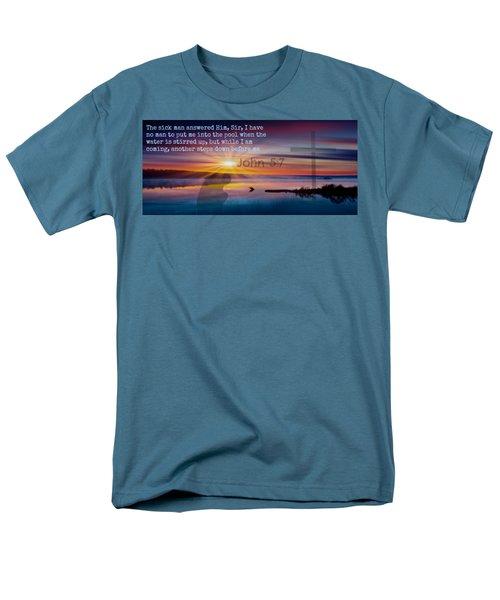 Friendship207 Men's T-Shirt  (Regular Fit) by David Norman