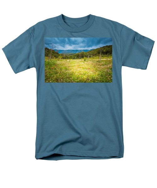 From Winter To Spring Men's T-Shirt  (Regular Fit) by Stavros Argyropoulos