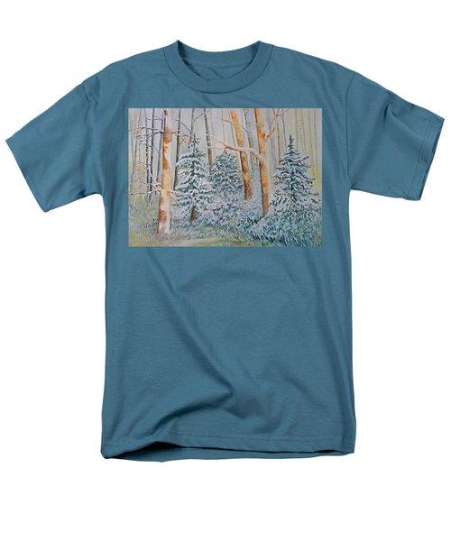 Winter Frost Men's T-Shirt  (Regular Fit) by Joanne Smoley
