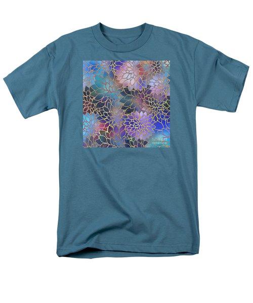 Men's T-Shirt  (Regular Fit) featuring the digital art Frostwork Fantasy by Klara Acel