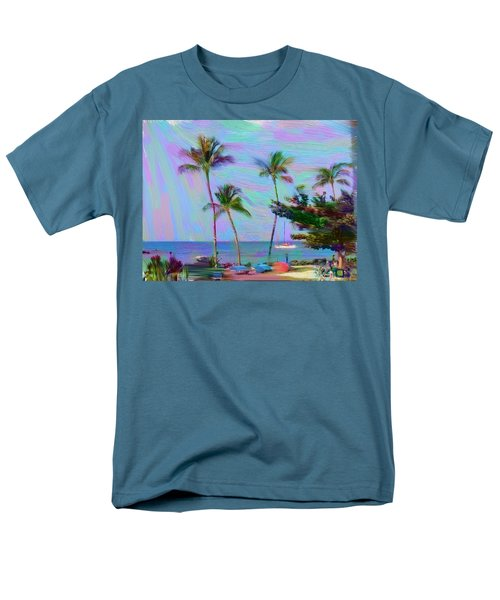 Fun At The Beach Men's T-Shirt  (Regular Fit) by Karen Nicholson
