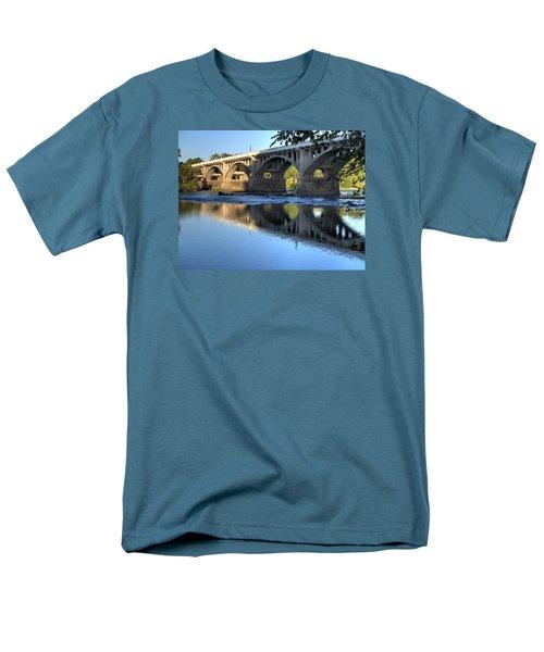 Gervais Street Bridge-1 Men's T-Shirt  (Regular Fit) by Charles Hite