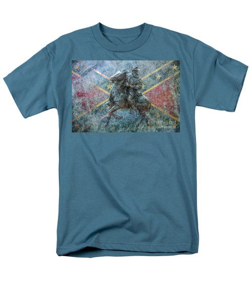 Ghost Of Gettysburg Verson Three Men's T-Shirt  (Regular Fit) by Randy Steele