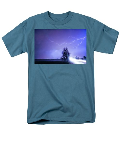 Men's T-Shirt  (Regular Fit) featuring the photograph Ghost Rider by James BO Insogna