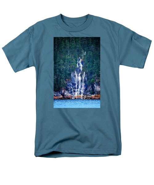 Glacier Falls 2 Men's T-Shirt  (Regular Fit) by Brian Stevens